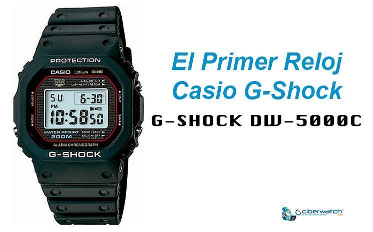 b7cc61d5f47e The-origin-G-Shock-DW-5000C. Anualmente Casio lanza al mercado varias  colecciones de relojes ...