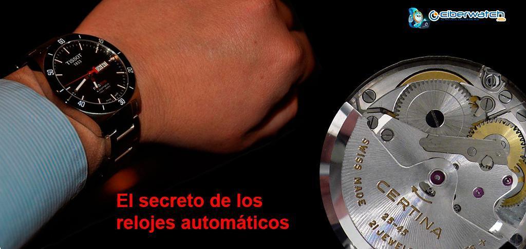 9826c81a8 ¿Qué es un reloj con movimiento automático? Básicamente se trata de un reloj  mecánico que tiene la capacidad de darse cuerda a sí mismo con el  movimiento ...