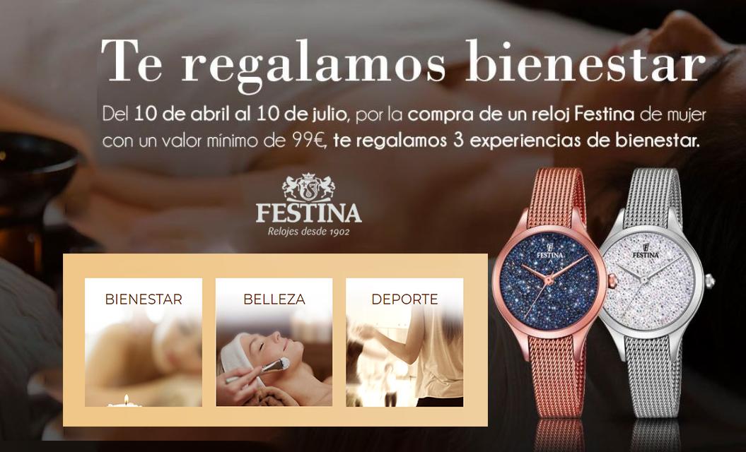 33fc59b06a15 Ponte guapa ¡Festina tiene un regalo para ti!