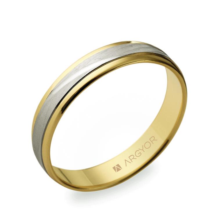 Alianzas de boda dos oros