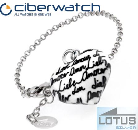 070126079e7c Pulsera Lotus Silver LP1000-2 1 Plata 1ª Ley   Joyas