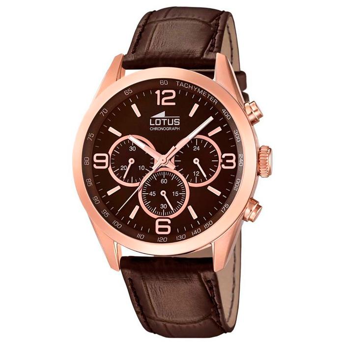Reloj Caballero Lotus Cron 243 Grafo 18157 2 Sumergible