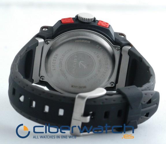 b43839f6a7de ... Reloj Calypso by Lotus Anadigi K5539 1 Crono Alarm Luz WR100m ...