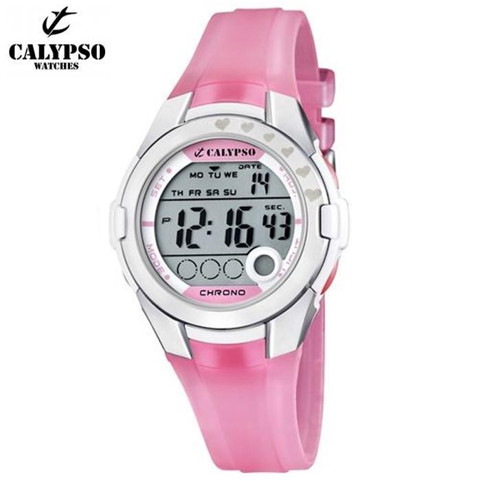 190a7ec6543e Reloj Calypso K5571 2 Crono  Alarma  Luz  Sumergible   Relojes Mujer