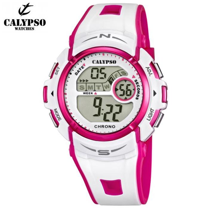126f1a75dd00 Reloj Calypso K5610 3 Crono  Alarma  Luz  Sumergible   Relojes Mujer