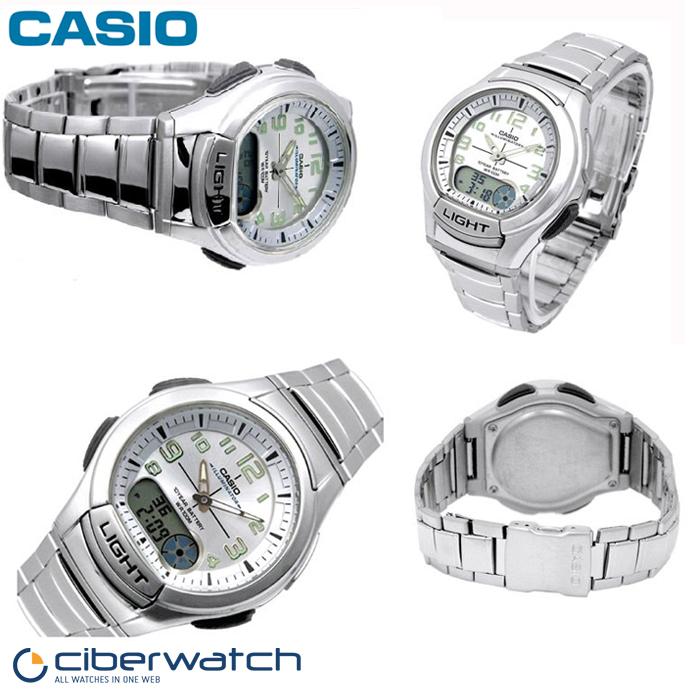 Aq 7bves Sumergible Reloj Casio 100m 180wd Ye2DWH9bEI