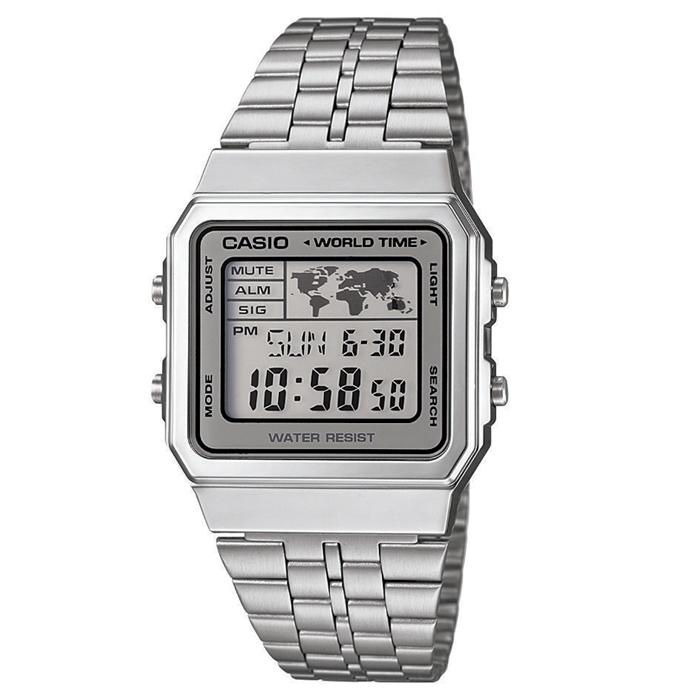 60e644dbfc33 Reloj Casio Digital World Map A500WEA-7EF   Relojes Hombre