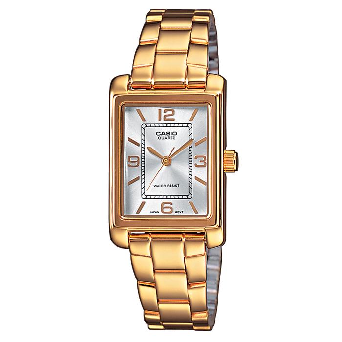 a505cb19e4d5 Reloj Casio Dorado Mujer LTP-1234PG-7AEF ...