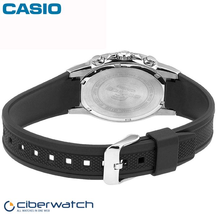 Reloj Casio Edifice EF-552-1AVEF Sumergible 100m   Relojes Hombre 0c6bb57c8766