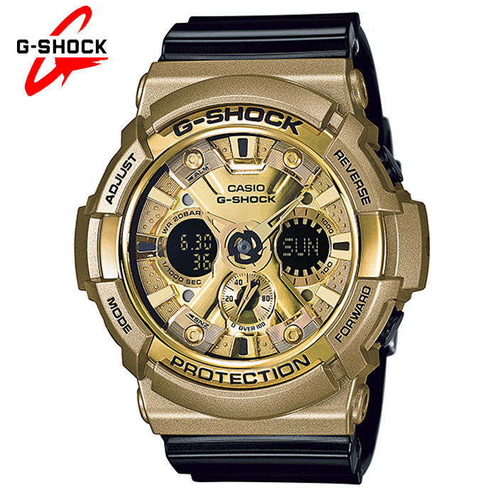 d71516402f58 Reloj Casio G-Shock CRAZY GOLD GA-200GD-9B2ER Sumergible   Relojes ...