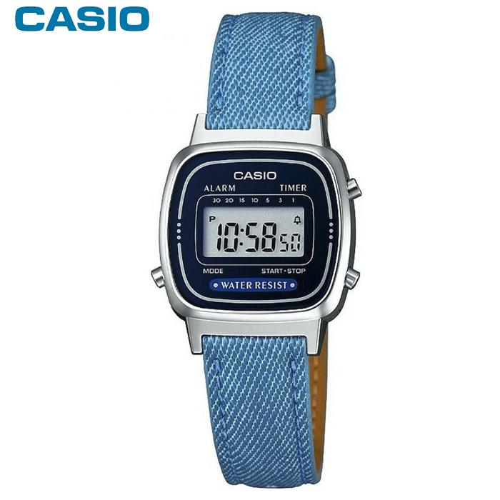 3d57c7e7c130 Reloj Casio LA670 Denim LA670WEL-2A2EF Sumergible   Relojes Hombre