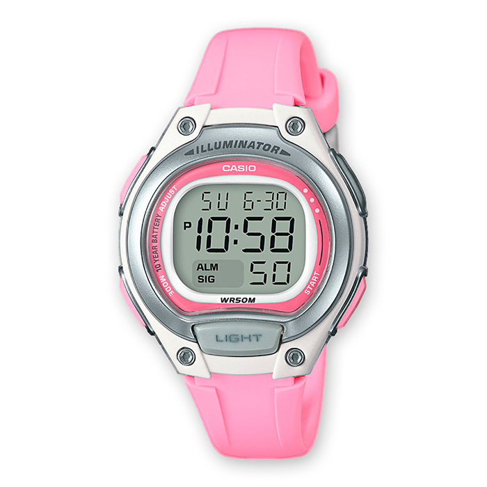 4ea22e7038ad Reloj Casio LW-203-4AVEF para niña Batería 10 Años ...