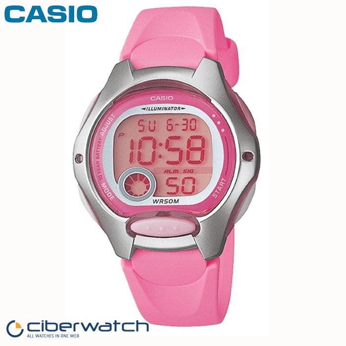 a09fbf465e45 ... Reloj Casio para Niña LW-200-4BVEF Sumergible