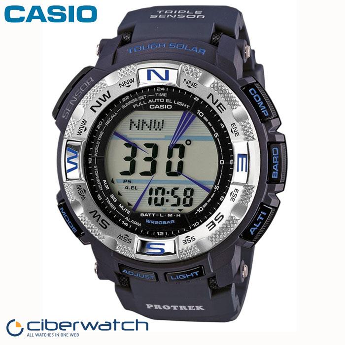 0fb076a9e694 Reloj Casio Pro Trek Solar PRG-260-2ER Sumergible 200m   Relojes Hombre