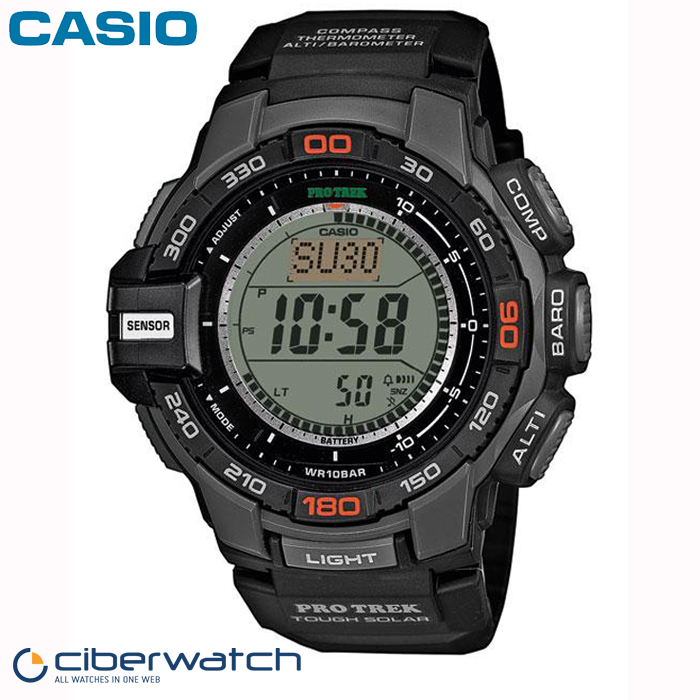 cdd8b48efbbb Reloj Casio Pro Trek Solar PRG-270-1ER Sumergible 100m   Relojes Hombre