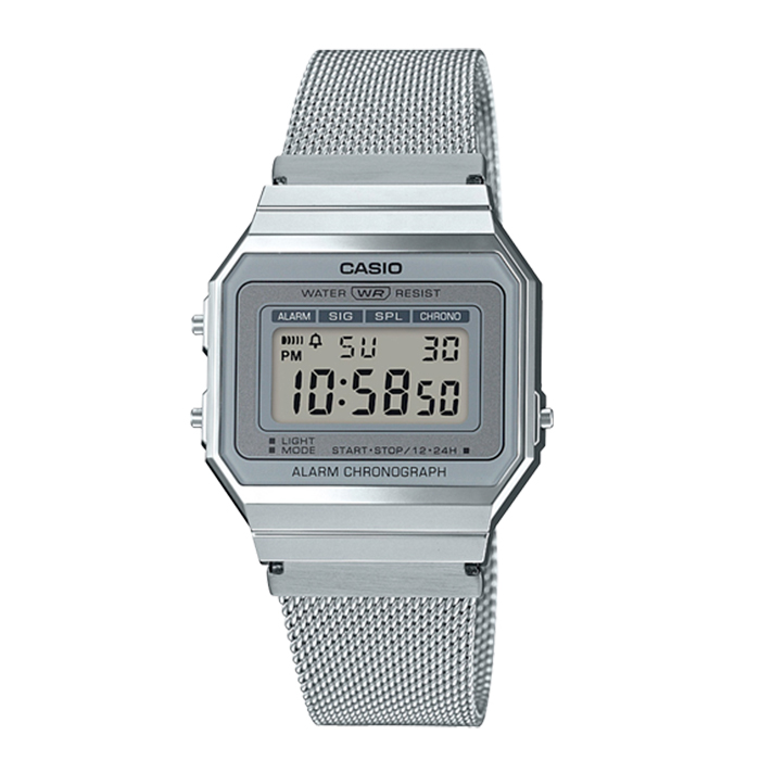 Reloj Digital Retro A700wem 7aef Casio v08nwmNO