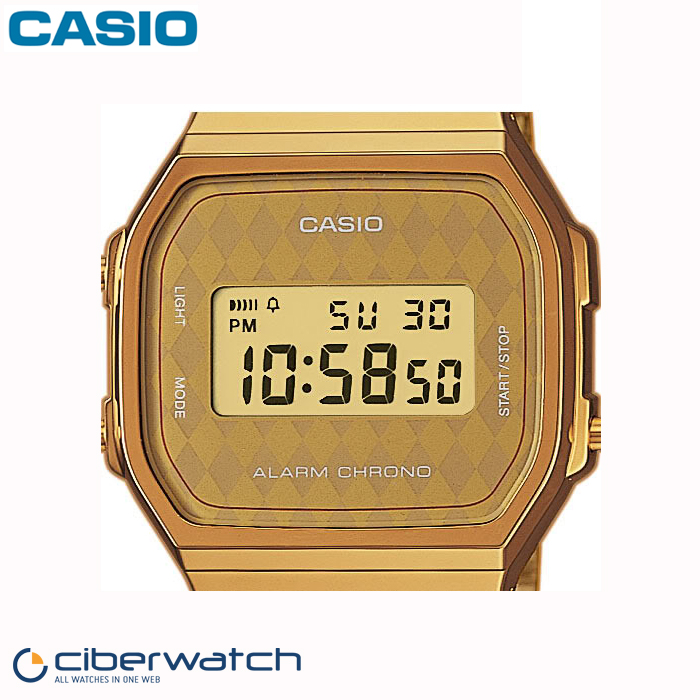 5059fb142380 reloj casio banado en oro