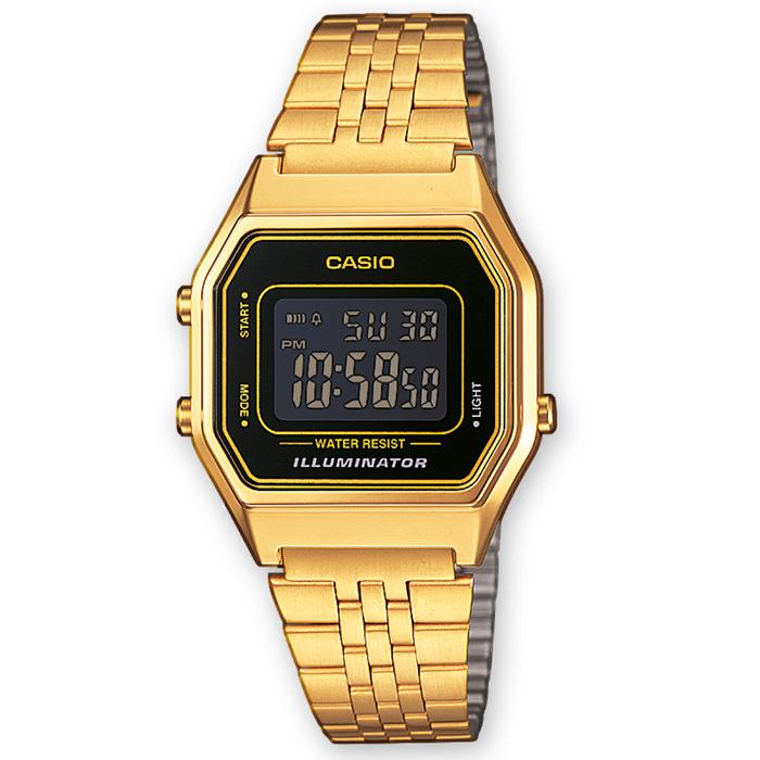 96a9ff6955d7 Reloj Casio Retro Dorado LA680WEGA-1BER   Relojes Mujer