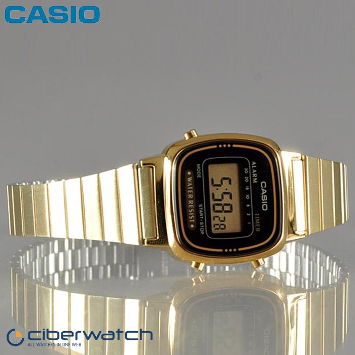 Reloj Casio Casio Retro Retro La670wega Reloj 1ef 1ef La670wega 6vf7Ybyg