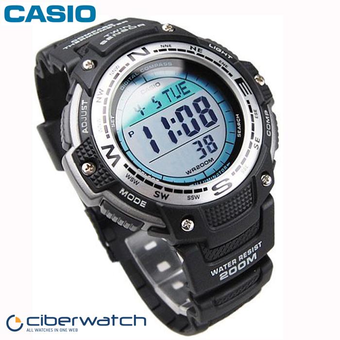 casio twin sensor watch manual
