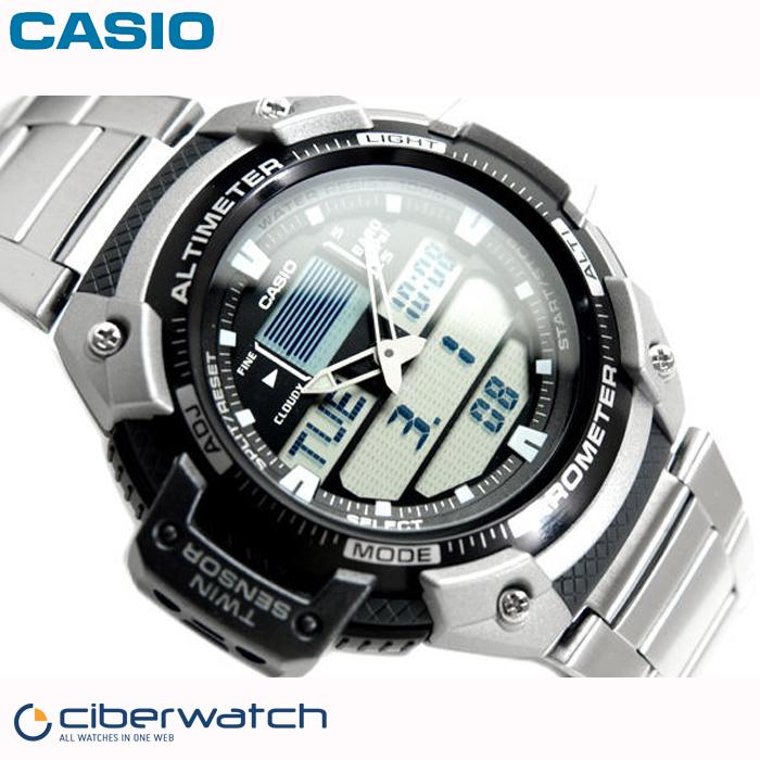 Reloj Casio SGW 400HD 1BVER Doble Sensor