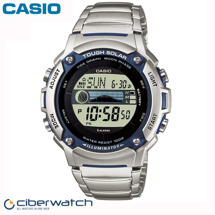 d3fc83bdc539 Reloj Casio Solar W-S210HD-1AVEF Sumergible 100m   Relojes Hombre