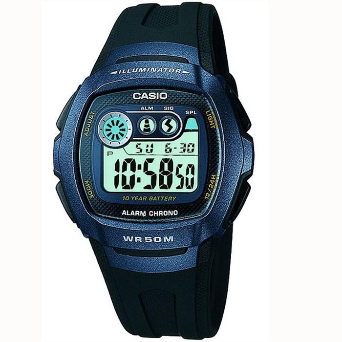 Reloj Casio W 210 1BVES Batería 10 años