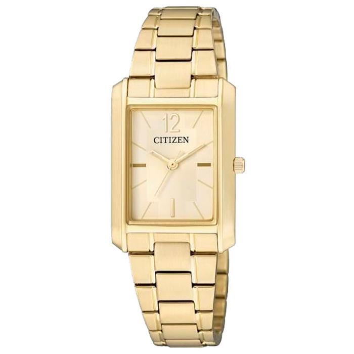 f5a58b15294f Reloj Citizen Dorado para Mujer ER0192-55P Sumergible   Relojes Mujer
