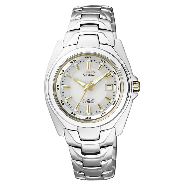 8861dcdea8300 Reloj Citizen Eco Drive Super Titanium de Mujer EW0911-50A ...