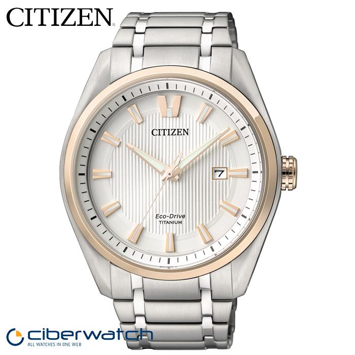 ... Reloj Citizen Eco Drive Super Titanium Hombre AW1244-56A 03bd8abac4