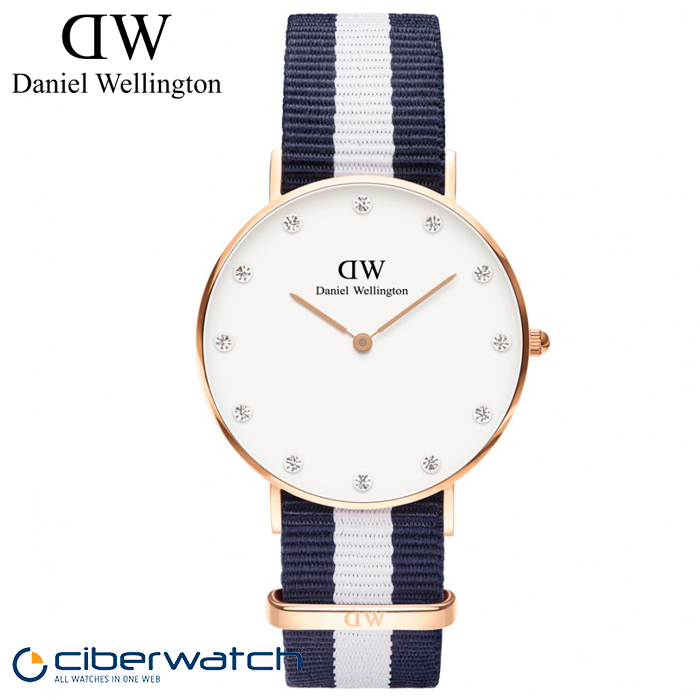 nueva productos 8c261 3bf7f Reloj Daniel Wellington Glasgow 34mm DW00100078
