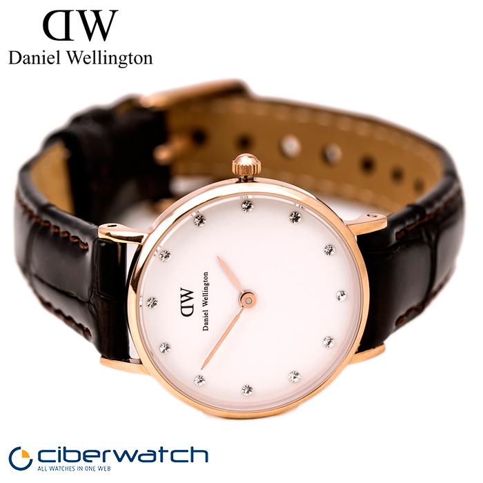 a9be1461f713 ... Reloj Daniel Wellington York Rosé 26mm DW00100061 para Mujer ...