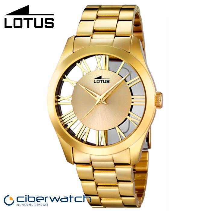 ... Reloj Dorado para Mujer Lotus 18123 1 a6425687c920