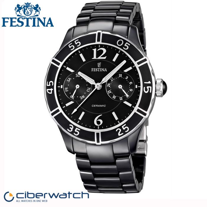 Reloj Festina Ceramic F16622 2 Sumergible 50m   Relojes Mujer 45e735fa197