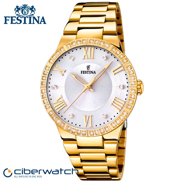 83e693543c5b Reloj de mujer festina dorado – Anillo diamante