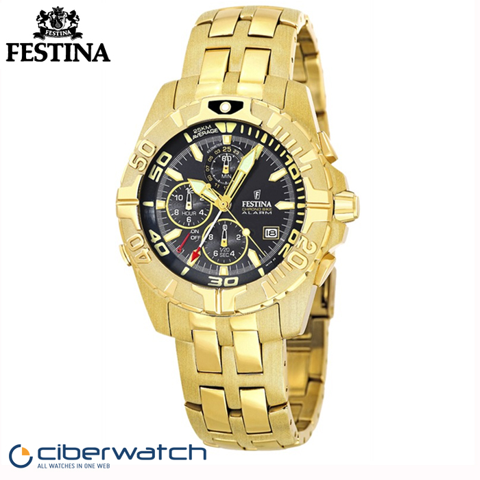 Reloj Festina F16119 3 Sumergible 100m   Relojes Hombre 6e7b72741a2