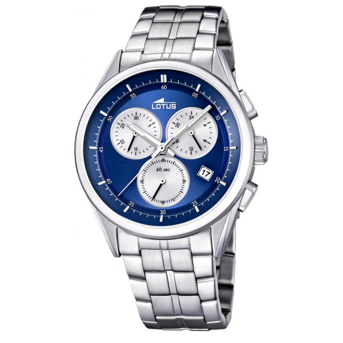 Reloj Lotus Cronógrafo 15847/2 Sumergible 100m