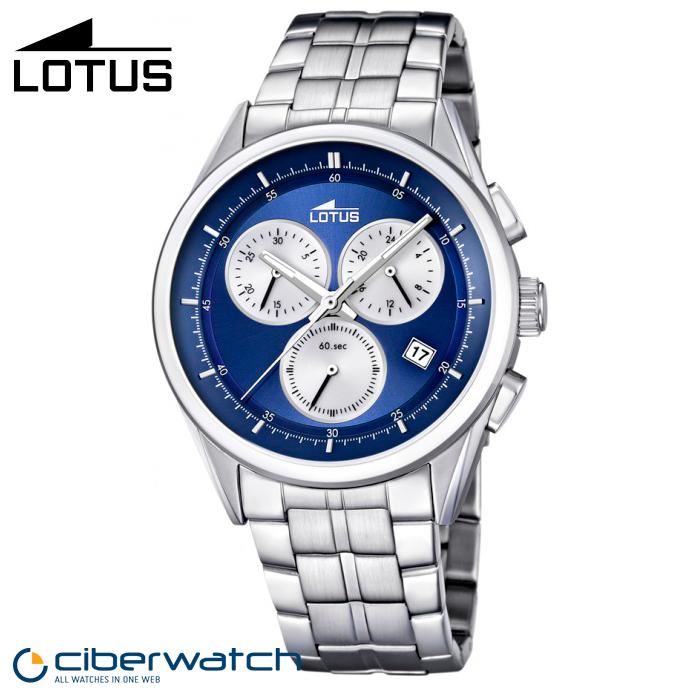 5fc238ac863e Reloj Lotus Cronógrafo 15847 2 Sumergible 100m   Relojes Hombre