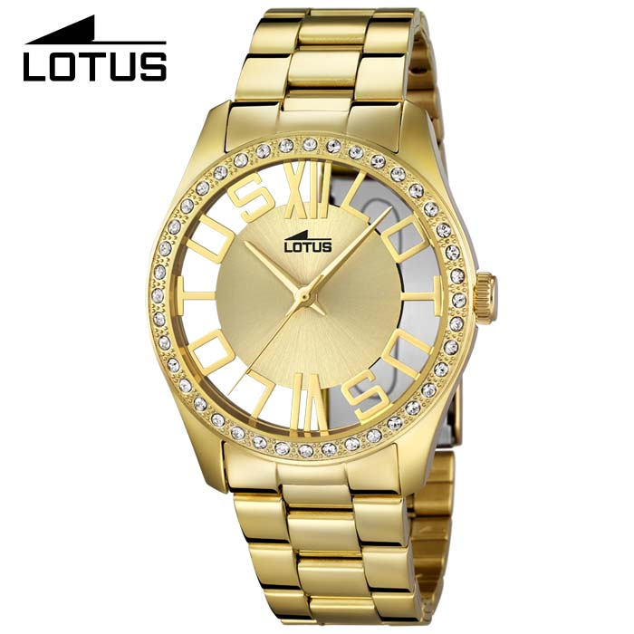 Reloj Lotus Dorado Para Chica 18127 1 Ciberwatch