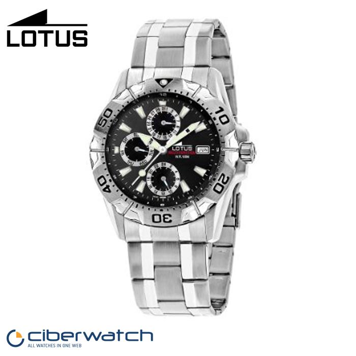 d2711ffc6384 Reloj Lotus Multifunción 15301 6 Sumergible 100m   Relojes Hombre