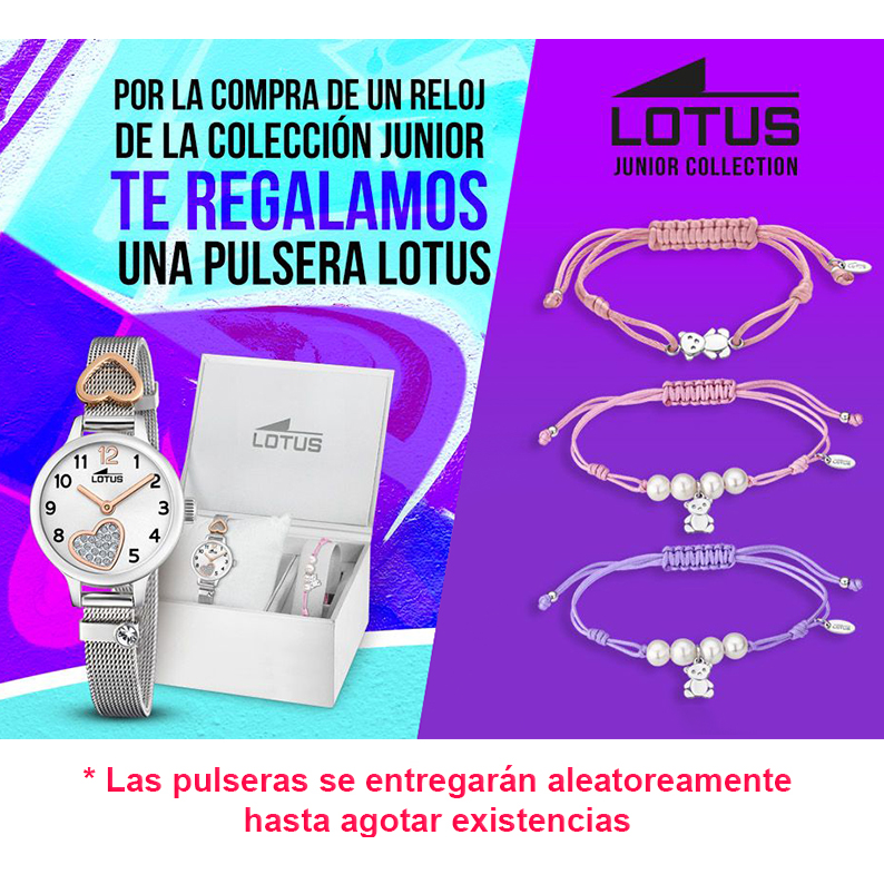 67aeb8498d4d ... Reloj Lotus Primera Comunión Niña 18269 3 + Regalo Pulsera Plata ...