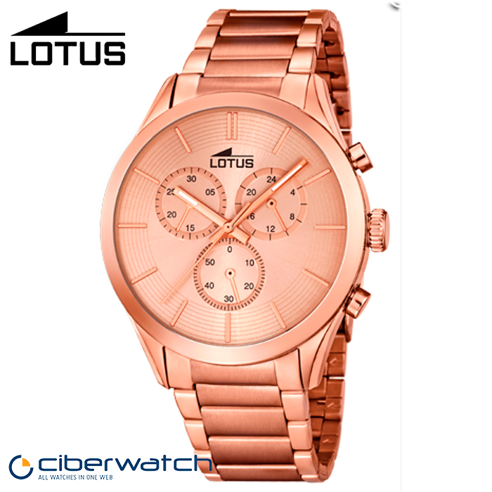 Reloj para Hombre Lotus Cronógrafo 18116 1 Rosé   Relojes Hombre 2aaa12b7c1fc