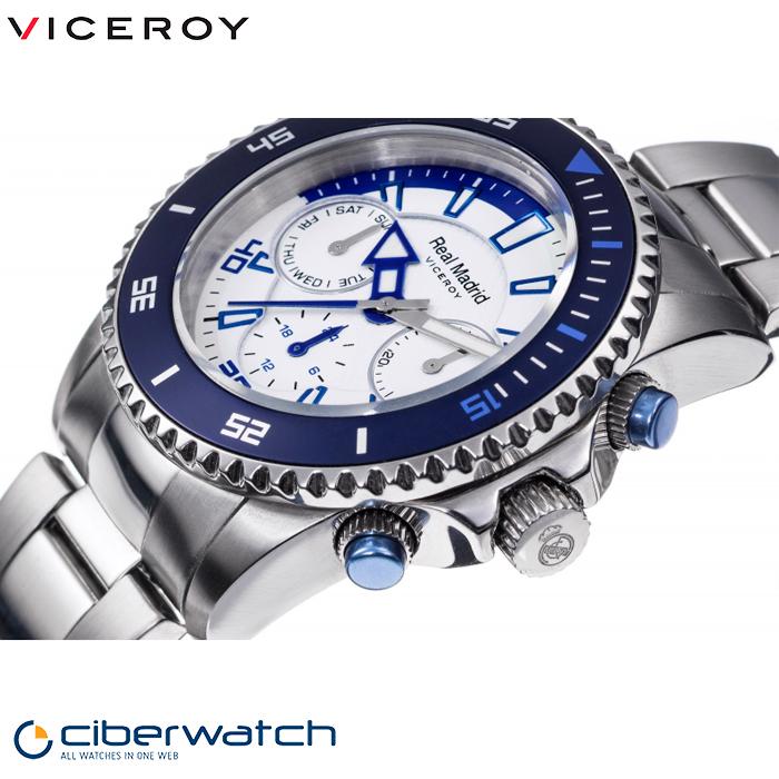 a9b24a786156 ... Reloj Viceroy Real Madrid Niño 432858-07 Multifunción ...
