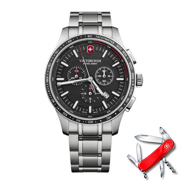 d6008264e2ae Reloj Victorinox Alliance Sport Chrono V241816 + Regalo Navaja ...