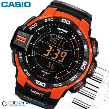 848c811eed5d Reloj Casio Pro Trek Solar PRG-270-4ER Sumergible 100m   Relojes Hombre