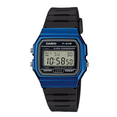 Reloj Casio Retro Collection F-91WM-2AEF