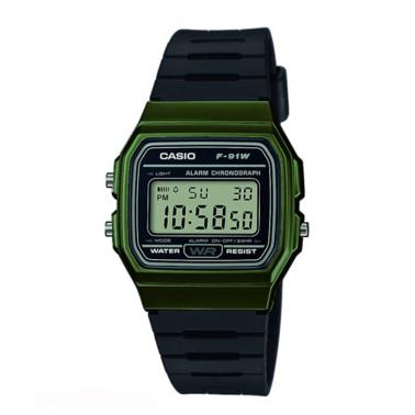 Reloj Casio Retro Collection F-91WM-3AEF