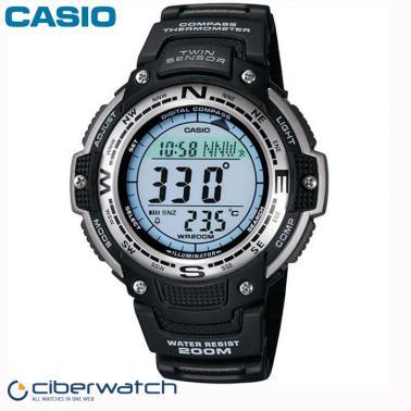Twin Sumergible 200m 100 Sensor Casio Reloj Sgw 1vef lJcTK3F1