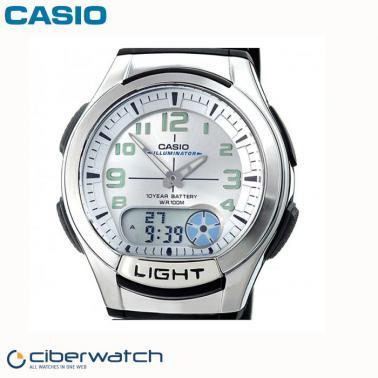 Telememo Batería Reloj Casio 10 180w 30 7bves Aq Años c4ARLq5j3