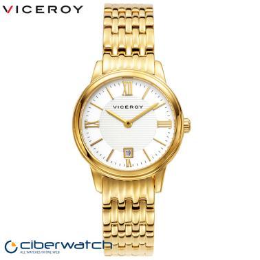 30d20ecc2ad3 ... Sumergible Reloj Dorado Viceroy 47832-23 para Mujer